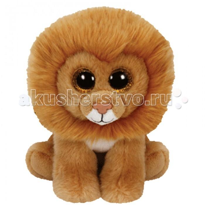 Мягкие игрушки TY Beanie Babies Львенок Louie 15 см ty frizzy домовёнок tang 15 см 37138