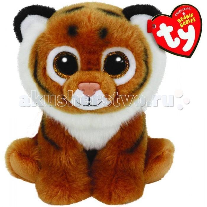 Мягкие игрушки TY Beanie Babies Тигренок Tiggs 20 см мягкие игрушки ty beanie babies белый мишка arctic 15 см