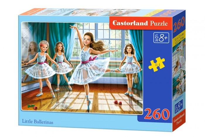 Пазлы Castorland Пазл Маленькие балерины 260 элементов пазлы castorland пазл золушка 260 элементов