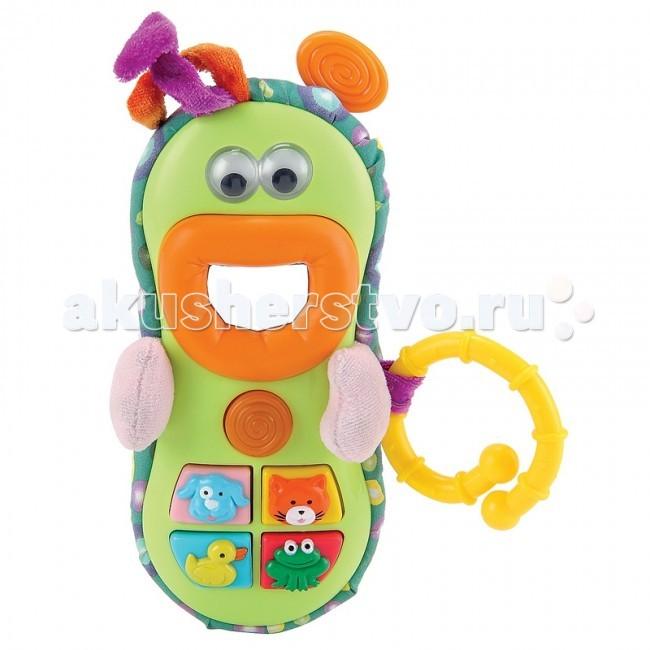 Подвесные игрушки Happy Baby Веселый телефон Smarton телефон