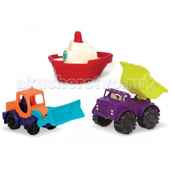 Машины Battat Набор игрушек Мини-техника 3 шт.