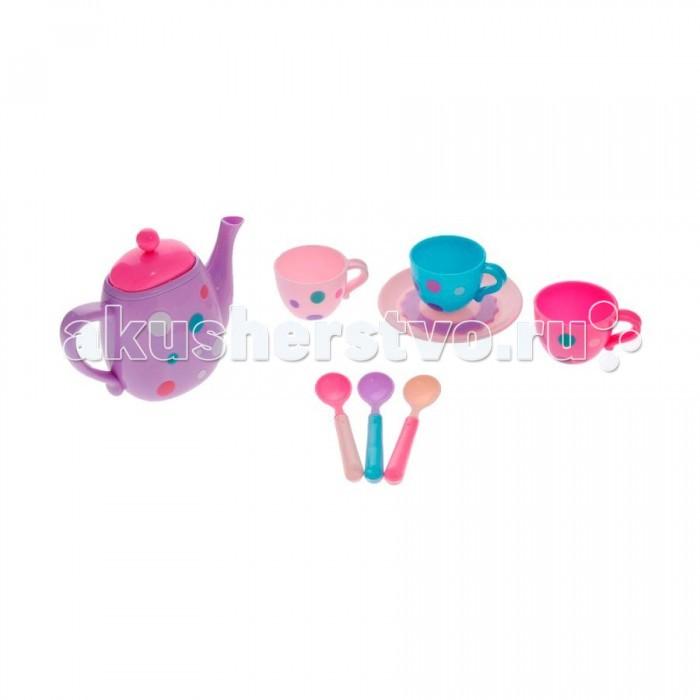 Ролевые игры ABtoys Помогаю Маме Кофейный сервиз 8 предметов в коробке игровой набор abtoys помогаю маме с посудой и продуктами 8 пр