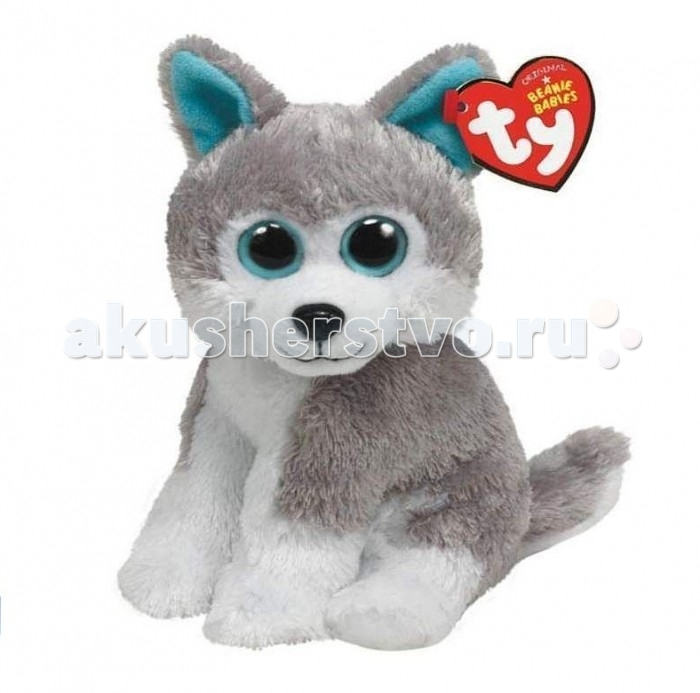 Мягкие игрушки TY Beanie Babies Волчонок Sledder 15 см ynynoo hot ty beanie boos big eyes small unicorn plush toy doll kawaii stuffed animals collection lovely children s gifts lc0067