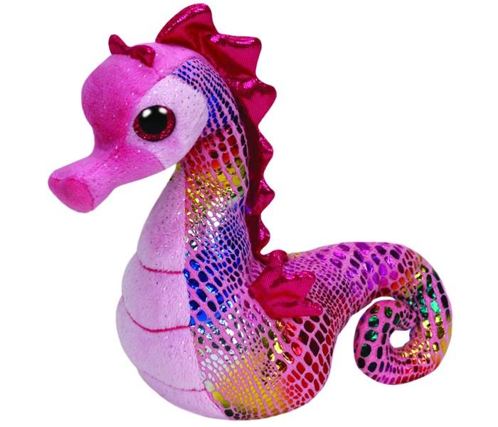 Мягкие игрушки TY Beanie Babies Морской конек Majestic 17 см ynynoo hot ty beanie boos big eyes small unicorn plush toy doll kawaii stuffed animals collection lovely children s gifts lc0067