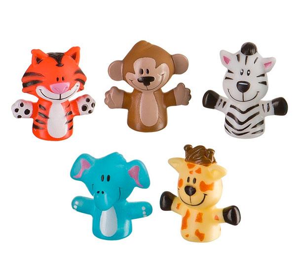 Игрушки для ванны Happy Baby Набор игрушек Fun Amigos каркасный бассейн bestway 2 44х0 61м 56045 56431