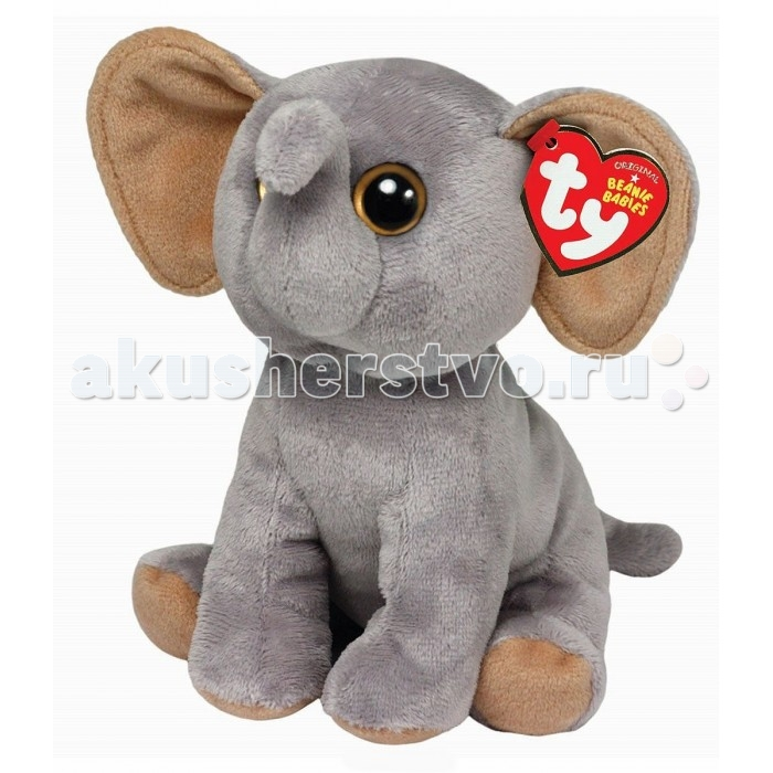 Мягкие игрушки TY Beanie Babies Слоненок Sahara 15 см ynynoo hot ty beanie boos big eyes small unicorn plush toy doll kawaii stuffed animals collection lovely children s gifts lc0067