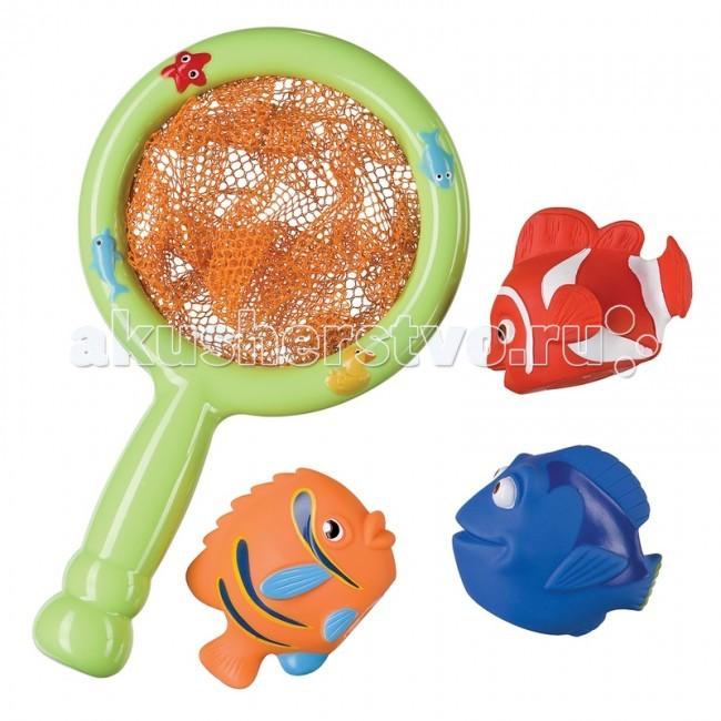 Игрушки для ванны Happy Baby Набор игрушек для ванной Little Fisher игрушка happy baby little friends 32024
