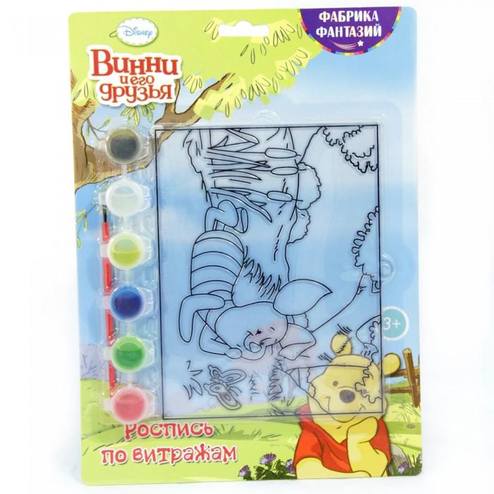 наборы для творчества disney набор для росписи витража самолеты дасти Наборы для творчества Disney Набор для росписи витража Хрюня