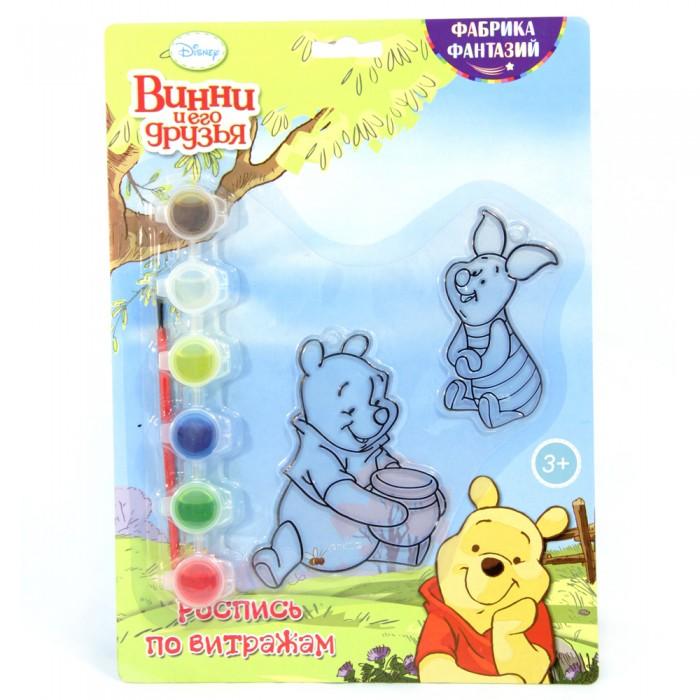 Наборы для творчества Disney Набор для росписи витража Винни Пух и Хрюня окт кресло в ваннуокт disney винни пух нескольз желтый