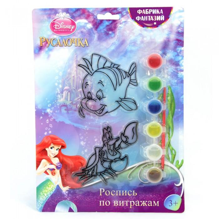 наборы для росписи Наборы для творчества Disney Набор для росписи витража Флаундер и Себастьян