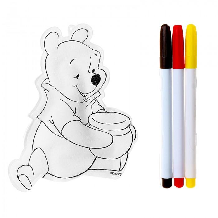 Заготовки под роспись Disney Набор для раскрашивания надувной игрушки Винни Пух окт кресло в ваннуокт disney винни пух нескольз желтый