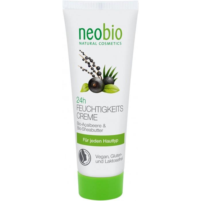 Косметика для мамы Neobio Увлажняющий крем для лица 24 часа 50 мл косметика для мамы секреты лан крем для лица увлажняющий матирующий иланг иланг 50 г