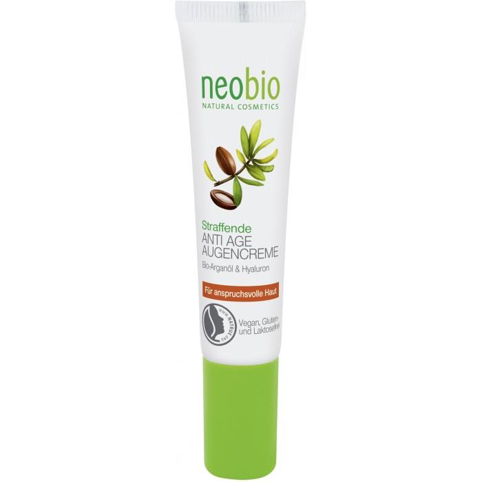 Косметика для мамы Neobio Разглаживающий крем вокруг глаз 15 мл greenpharma крем от морщин вокруг глаз
