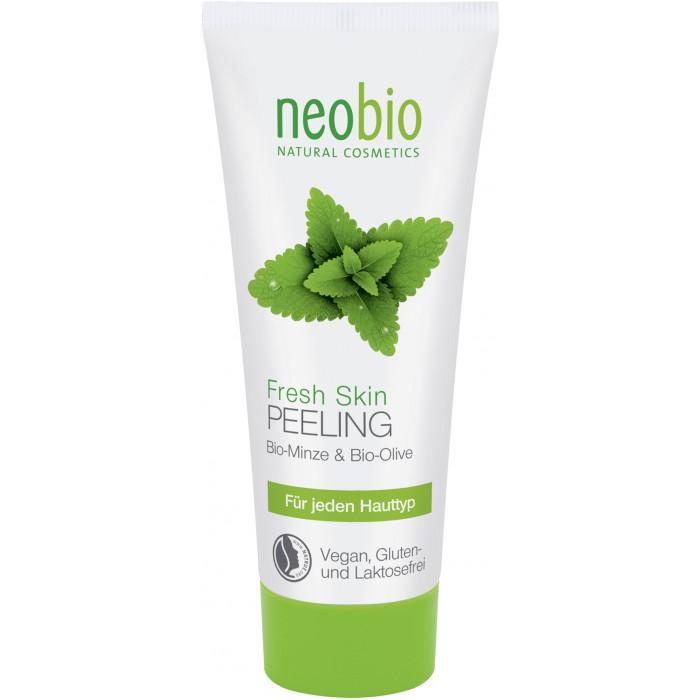 Косметика для мамы Neobio Средство для пилинга Fresh Skin 100 мл оливковое масло для кожи