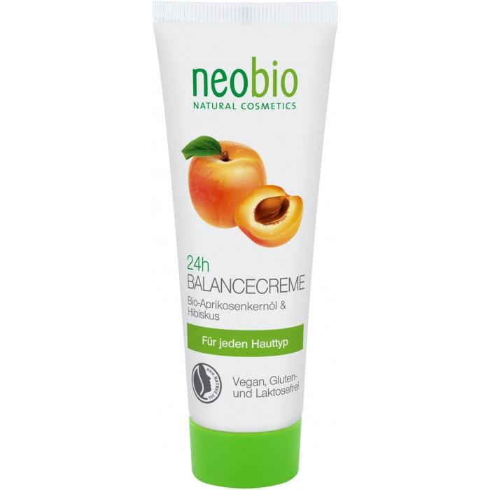 Косметика для мамы Neobio Крем 24 часа Баланс 50 мл tm chocolatte биотоник для лица аква баланс с пребиотиками 100 мл