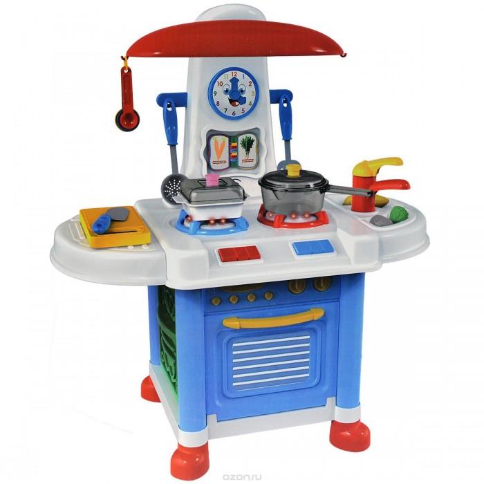 Ролевые игры ABtoys Помогаю маме Кухня с набором аксессуаров со звуковыми эффектами в коробке