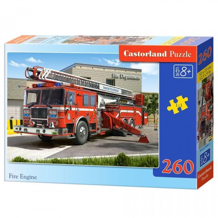 Пазлы Castorland Пазл Пожарная машина 260 элементов  недорого