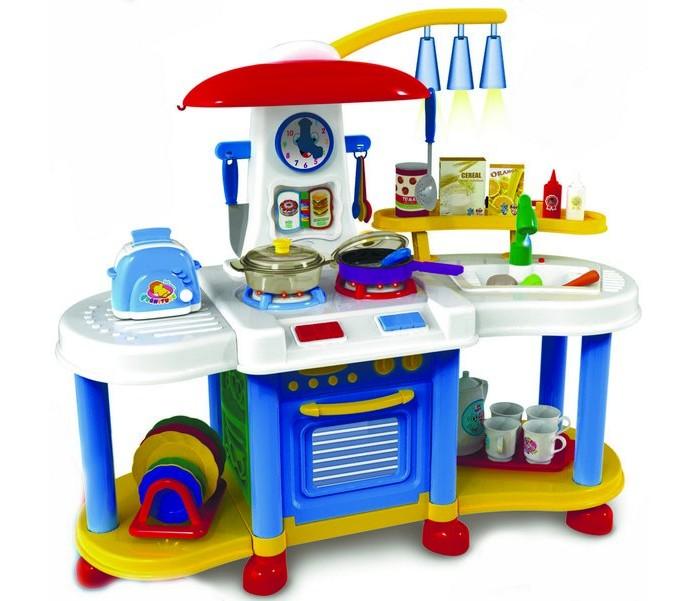 ABtoys Помогаю маме Кухня с набором аксессуаров со звуковыми эффектами в коробке PT-00196