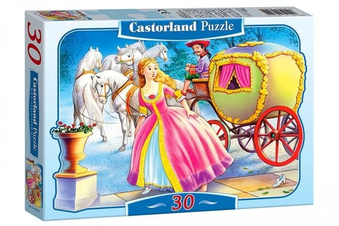 Пазлы Castorland Пазл Золушка 30 элемента пазлы magic pazle объемный 3d пазл эйфелева башня 78x38x35 см