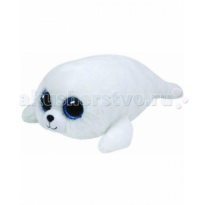 Мягкие игрушки TY Beanie Boos Белый тюлень Icing 25 см мягкие игрушки ty beanie babies белый мишка arctic 15 см