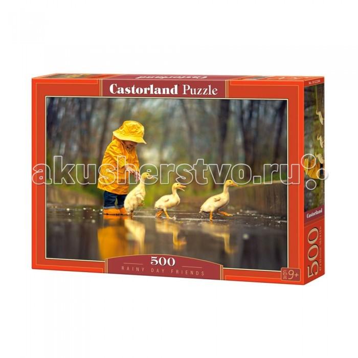 Пазлы Castorland Пазл Дождливый день 500 элементов паззл castorland 500 эл ангел в саду 41666