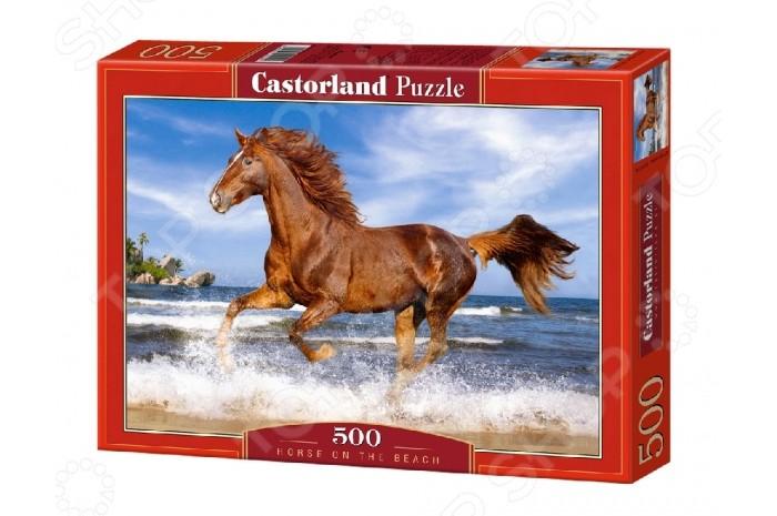 Пазлы Castorland Пазл Лошадь 500 элементов пазлы castorland пазл 4 в 1 девочка и лошадь 180 элементов