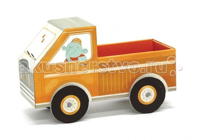 Конструкторы Krooom Игрушки из картона модель Fold My… Ремонтная машина как продать машину по запчастям