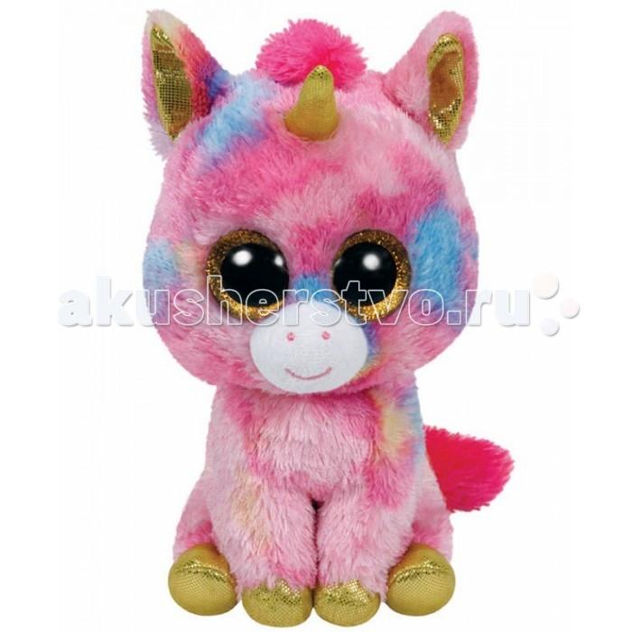 Мягкие игрушки TY Beanie Boo's Единорог Fantasia 25 см