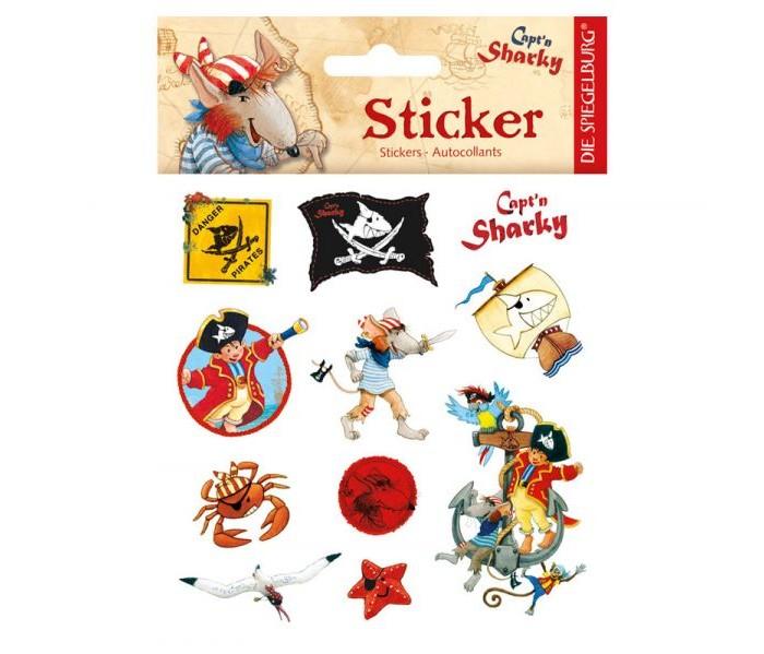 Детские наклейки Spiegelburg Наклейки Captn Sharky 21263
