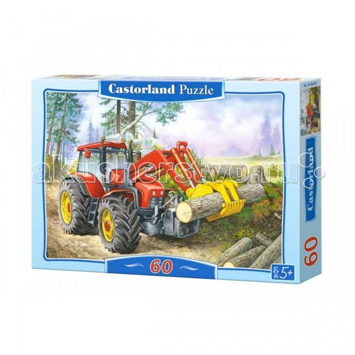 Пазлы Castorland Пазл Трактор 60 элементов yandex печку на трактор мтз