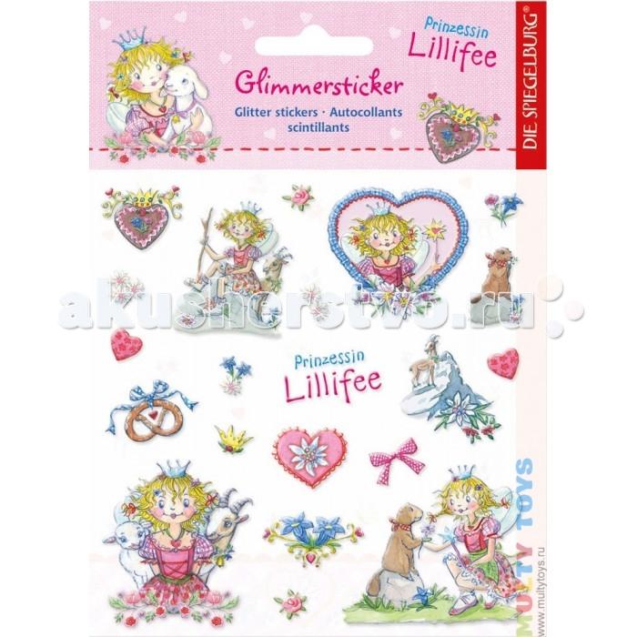 Детские наклейки Spiegelburg Наклейки Prinzessin Lillifee 21552 цена
