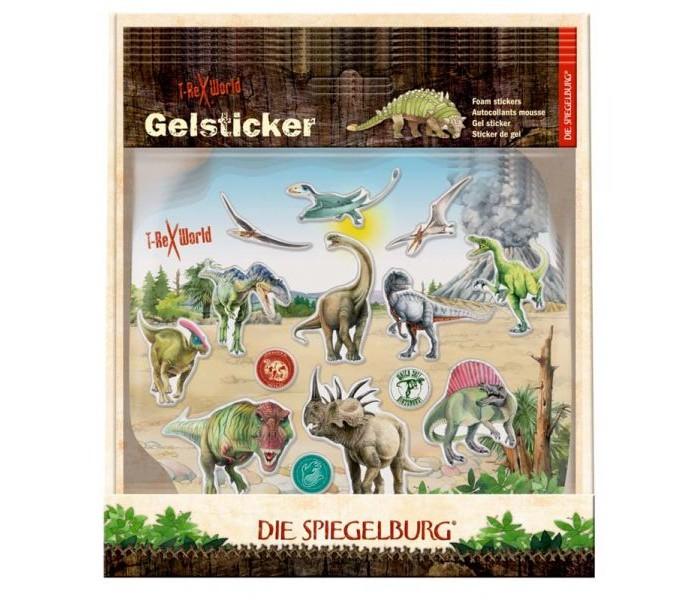 Детские наклейки Spiegelburg Наклейки T-Rex World 11295 ноутбук dell vostro 5568 5568 1120 5568 1120