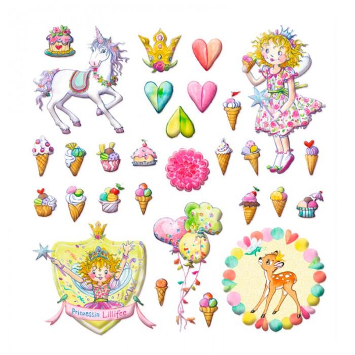 Детские наклейки Spiegelburg Наклейки Prinzessin Lilifee 11990 игровые наборы spiegelburg набор для игр prinzessin lilifee 11551