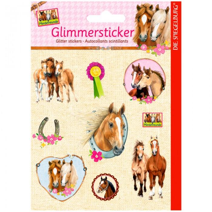 Детские наклейки Spiegelburg Наклейки Pferdefreunde 11992 наборы для творчества spiegelburg набор для детского творчества pferdefreunde 12265