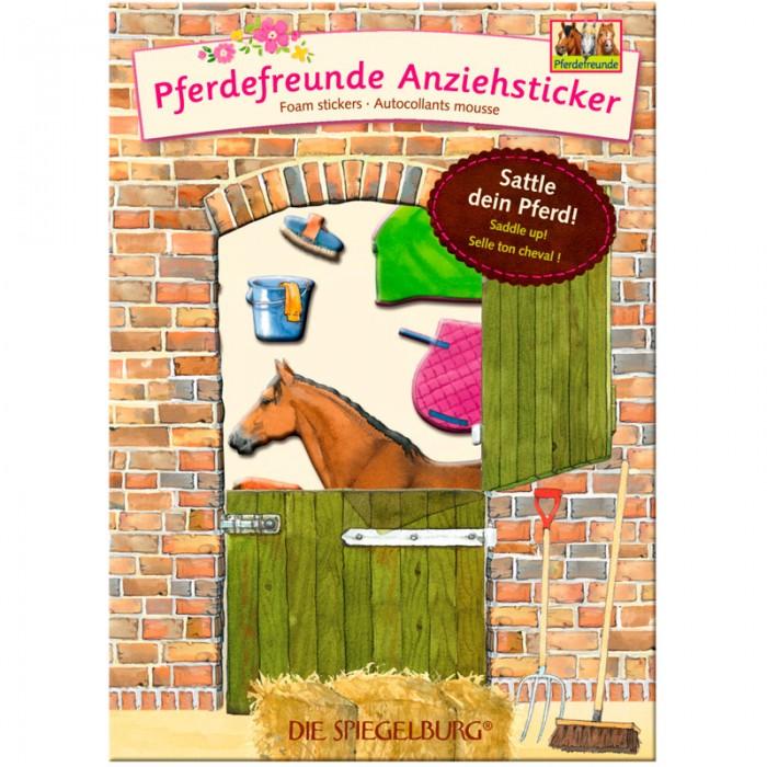 Детские наклейки Spiegelburg Наклейки Pferdefreunde 11994 наборы для творчества spiegelburg набор для детского творчества pferdefreunde 12265