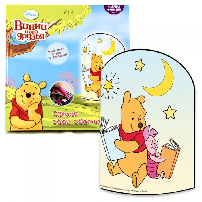 Наборы для творчества Disney Создай свой светильник Винни Пух окт кресло в ваннуокт disney винни пух нескольз желтый