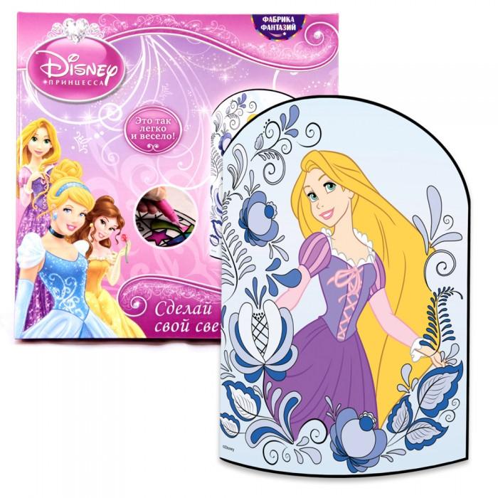 Наборы для творчества Disney Сделай свой светильник Рапунцель наборы для вышивания сделай своими руками набор для творчества дельфин