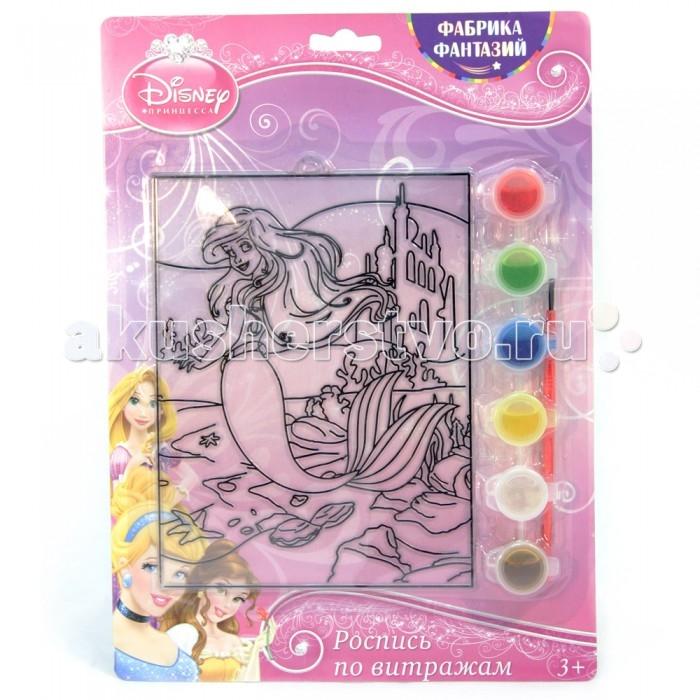 наборы для творчества disney набор для росписи витража флаундер и себастьян Наборы для творчества Disney Набор для росписи витража Ариэль