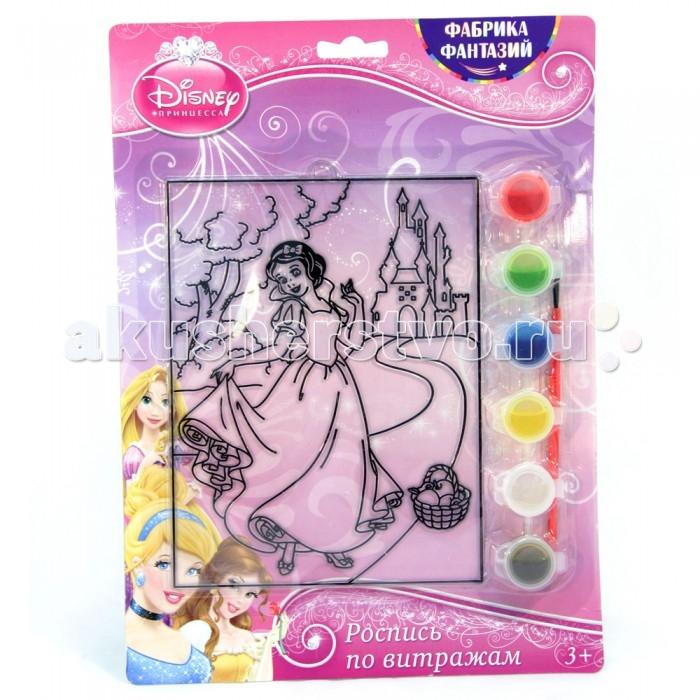 наборы для рисования фабрика фантазий набор для росписи витража тачки Наборы для творчества Disney Набор для росписи витража Белоснежка