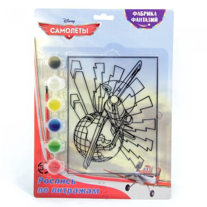 наборы для творчества disney набор для росписи витража самолеты дасти Наборы для творчества Disney Набор для росписи витража Самолеты Дасти