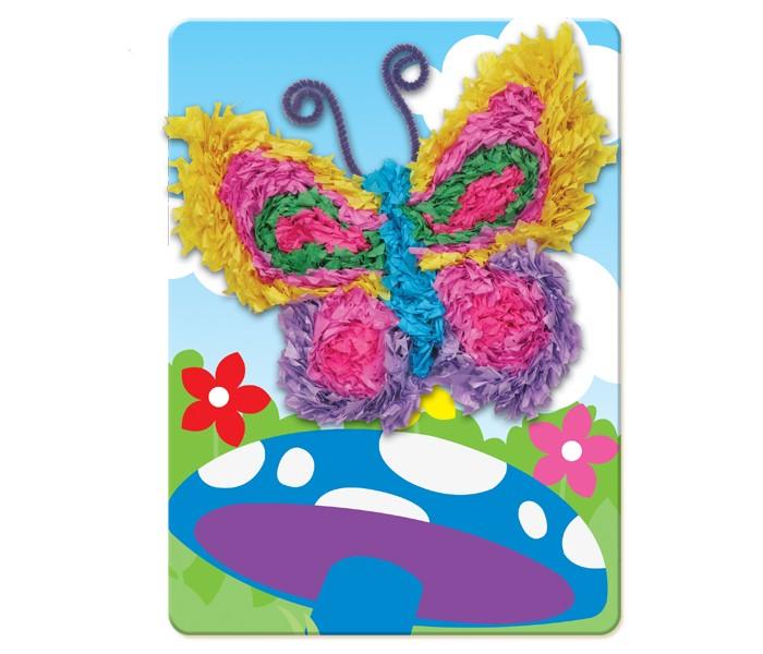 Наборы для творчества Фабрика фантазий Набор для создания аппликации 3D Бабочка