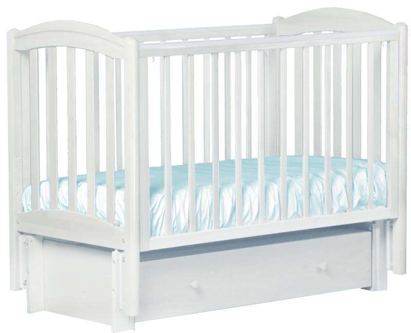 Купить Детская кроватка Кубаньлесстрой БИ 09.3 Василек маятник продольный в интернет магазине. Цены, фото, описания, характеристики, отзывы, обзоры
