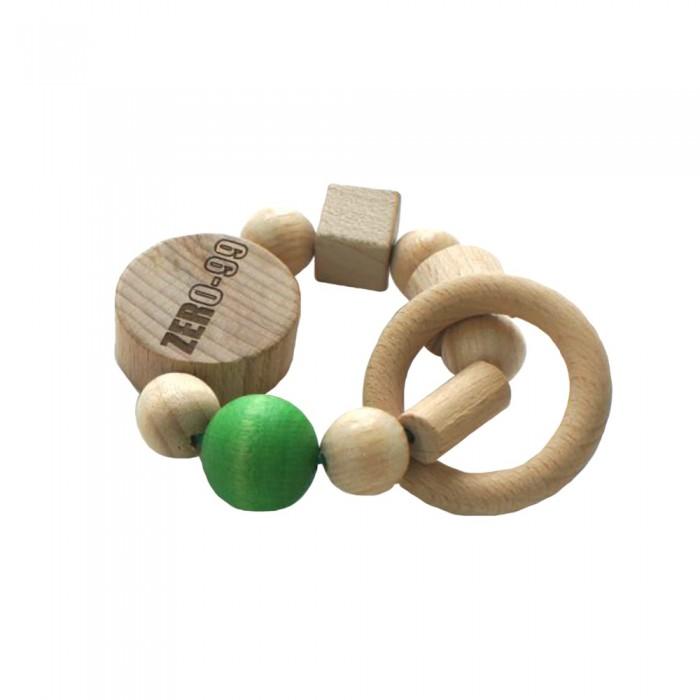 Zer0-99 Погремушка-прорезыватель из натурального дерева