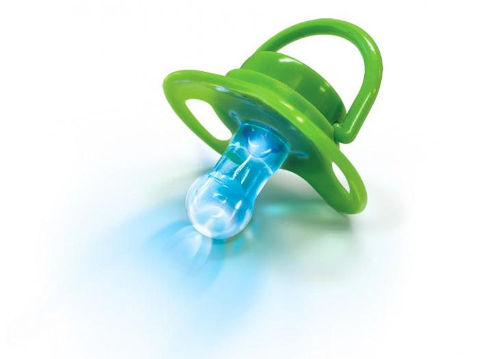 Пустышка LEDcare Соска антибактериальная светодиодная