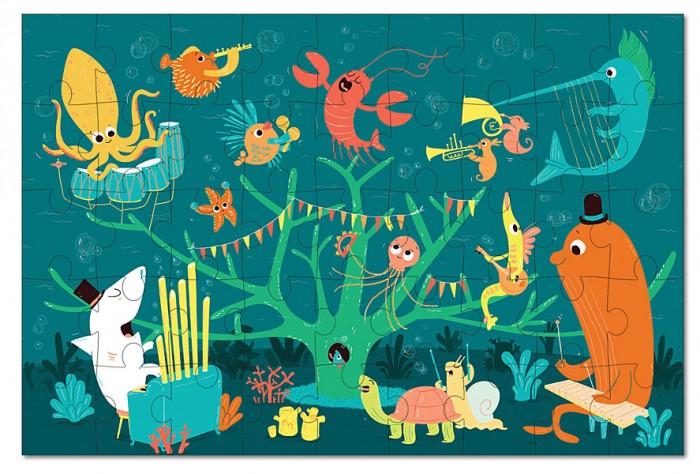 Пазлы Krooom Игрушки из картона пазл Морские животные алексеева е кит и другие морские животные