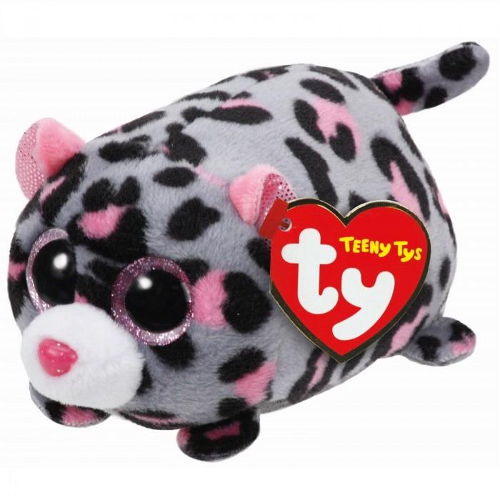 Мягкие игрушки TY Teeny Tys Леопард Miles 11 см ty мягкая игрушка леопард цвет розовый 10 см