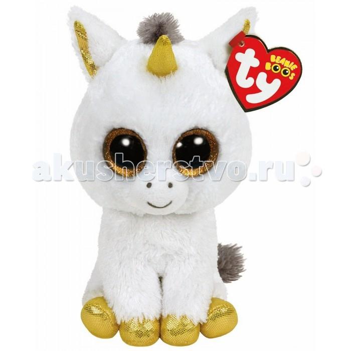 Купить Мягкие игрушки, Мягкая игрушка TY Beanie Boo's Единорог Pegasus 15, 24 см