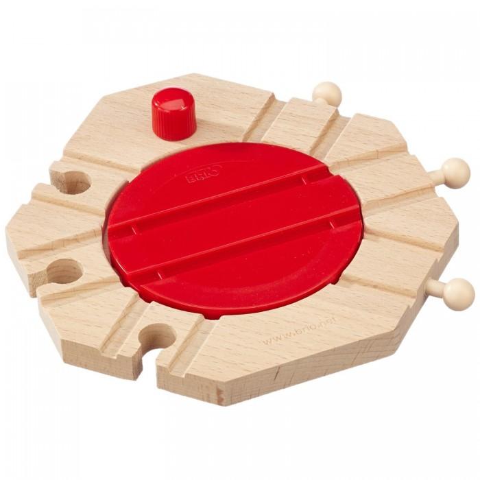 Железные дороги Brio Механический перекресток для деревянной железной дороги, Железные дороги - артикул:217314