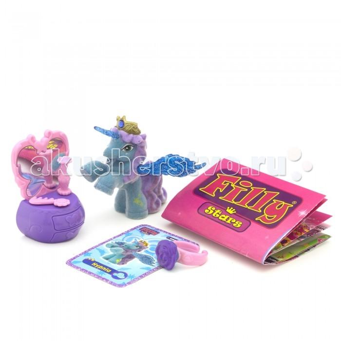 Игровые наборы Filly Игровой набор Звезды Лошадка Hypnia с аксессуарами dracco игровой набор лошадки filly звезды волшебная семья мини версия astro и hypnia