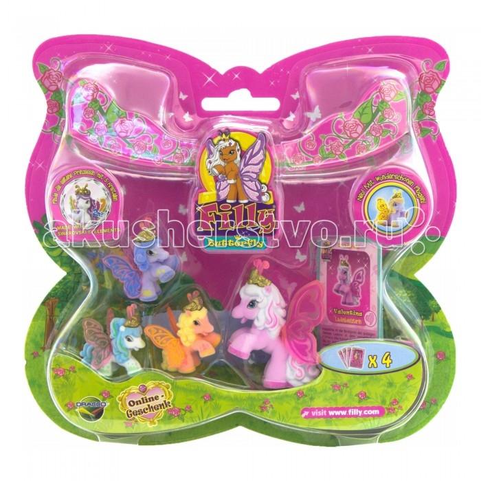 Игровые наборы Filly Набор с бабочками Волшебная семья Valentina немецкая версия